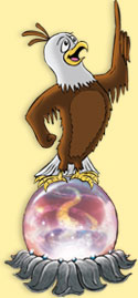 Children's Eagle Illustration